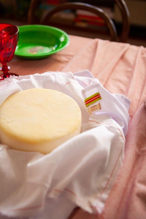 pano do queijo para maturar o queijo